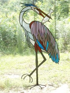 Wild About Glass, The Artwork of David Oppenheimer Stained Glass Ornaments, Stained Glass Birds, Faux Stained Glass, Fused Glass Art, Mosaic Glass, Stained Glass Patterns Free, Stained Glass Designs, Stained Glass Projects, Broken Glass Crafts
