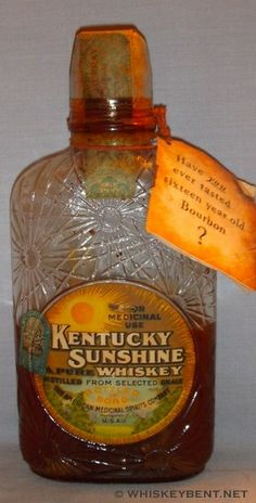 Kentucky Sunshine | Have you ever tasted a sixteen year-old Bourbon?