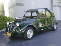 1962 Citroën 2CV Sahara 4x4  Chassis no. 0449 Engine no. 05400113 and 0540094