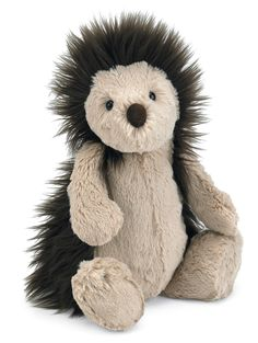 Neither hedge nor hog, but she does love a good hug! We thought hedgehogs were spiky and sharp, until we met bonny Bashful Hedgehog! This cuddly critter has such long, soft spines that you won't want