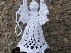 Crochet Christmas ornament Christmas decoration by InKasTrifles