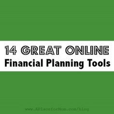 14 Great Financial Planning Tools, Retirement Calculator, 401K Calculator, etc.