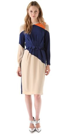 Colorblock: Preen Rhombus Dress