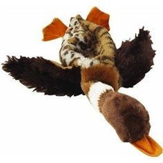 Skineeez Dog Toy Duck 145 In Mallard Duck ** Click image to review more details.