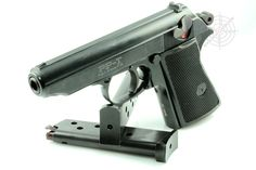 Walther PP pistol. The Erma PP-T.