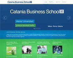 realizzare sito web catania cataniabusinessschool.it