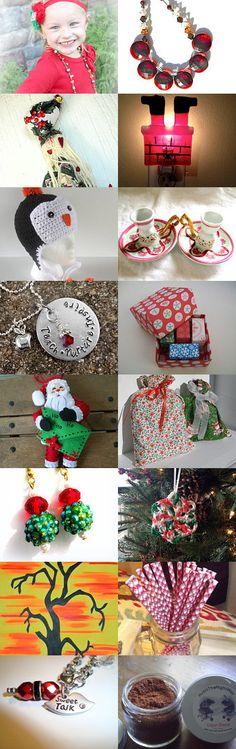 Santa is coming! UP Team Treasury Promo by Roberta Aiello on Etsy--Pinned with TreasuryPin.com