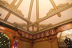Interior da joalheria de Georges Fouquet, projetada por Mucha - Paris - 1900 Atual Museu Carnavalet