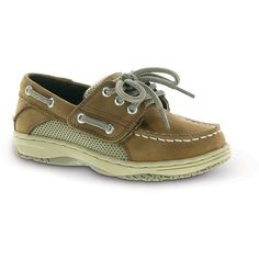 Sperry Top-Sider Toddler Boy's Billfish Alternative Closure Boat Shoe ($55) ❤ liked on Polyvore featuring babies, kids, baby boy, kids shoes and dirty buck