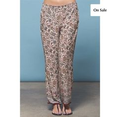 Palazzo Bottoms in Rusty Beige 😍So Cute Right!? These Adorable Palazzo Bottoms are a Loose fit, with an elastic stretch waistband for your comfortable! 😉 Light weight material, with a little stretch. 100% Polyester. If you have any questions, please feel free to ask 😊 #PoshOnLadies! Bohemian Sea Pants
