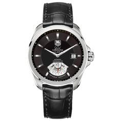 Shop for Tag Heuer Grand Carrera Men's Automatic Watch. Get free delivery On EVERYTHING* Overstock - Your Online Watches Store! Tag Heuer, Carrera Watch, Cheap Designer Shoes, Automatic Watches For Men, Beautiful Watches, Luxury Watches For Men, Cool Watches, Wrist Watches, Men's Watches
