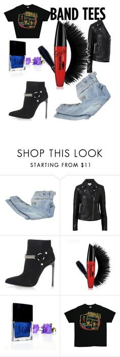 """""""Untitled #901"""" by heavenlystar ❤ liked on Polyvore featuring Balmain, Witchery and Yves Saint Laurent"""