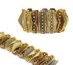 Jewelry Making For Beginners Tabby Bracelet Beading Kit *Cream I Love Jewelry, Jewelry Gifts, Jewelry Accessories, Handmade Jewelry, Jewelry Making, Glass Jewelry, Craft Jewelry, Jewelry Ideas, Tutorials