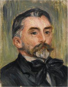 Pierre-Auguste Renoir - Portrait de Stéphane Mallarmé, 1892 #arte
