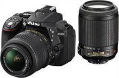 Lustrzanka Nikon D5300 + 18-55 mm VR + 55-200 mm VR - zdjęcie 1