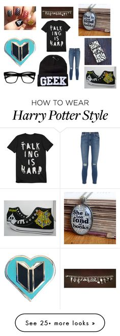 """""""Untitled #120"""" by slytheringirl1033 on Polyvore featuring Retrò, Frame Denim and Converse"""