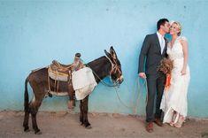 Mexico wedding shoot with donkey / Blush Wedding Photography