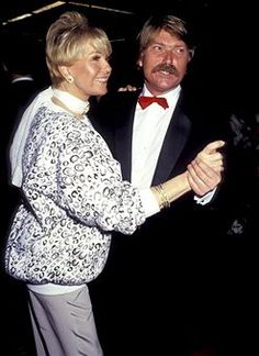 Doris Day and her son, Terry Melcher. She retired to Carmel-by-the Sea, CA. She was an animal activist, and founded two animal leagues. She gave up her showbiz name and became known Clara Kappelhoff. In 2004, she tragically lost her son, Terry Melcher, to a long battle with melanoma. It was a devastating blow, since mother and son were incredibly close. She is 91 years old.
