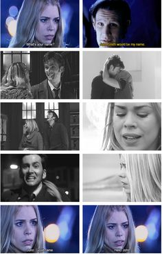 """vintagebutt: """" AU - Good name, John. └ The Doctor (Piper) comes across a young man who reminds her a little too much of an old friend, John Tyler. Rose And The Doctor, I Am The Doctor, 10th Doctor, Doctor Who Funny, Tv Doctors, Sonic Screwdriver, John Smith, Sherlock John, Rose Tyler"""