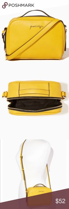 Kendall and Kylie Pose for the camera purse! NWT in plastic. Gorgeous over the shoulder bag that's classy with a great pop of color. In person it's more of a mustard yellow color! See photos for full detail description and measurements. Comes with dust bag. No trades. 100% Authentic! Kendall & Kylie Bags Crossbody Bags
