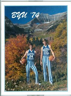 1974 - 1975 Brigham Young University BYU basketball media guide -Box24   eBay