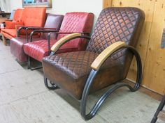 Check out the leather seats at the Antique Market!
