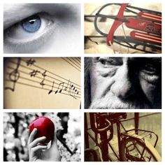 The Giver: a simple idea of using pictures to describe the story