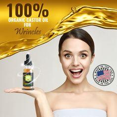 What Is Castor Oil, Castor Oil For Face, Pure Castor Oil, Organic Castor Oil, Anti Aging Skin Care, Natural Skin Care, Natural Hair, Castor Oil Benefits, Face Wrinkles