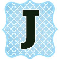 Blue_Black Letter_J