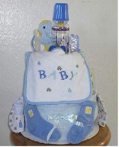 #BOY #DIAPER #CAKE #BIB #SOCKS #BOTTLES #BRUSH AND TONS OF OTHER #BABY #PRESENTS