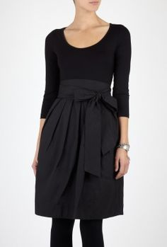 Technical Twill System Dress by DKNY
