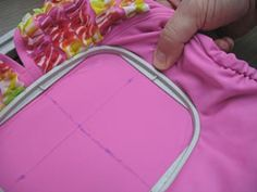 Embroidery Library - embroidering on spandex