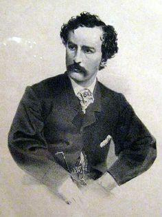 John Wilkes Booth by John Henry Bufford