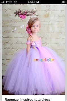I want to be a little girl again just so I can wear this dress!