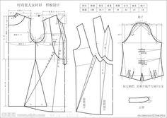 05 large model design fashion blouse pictures