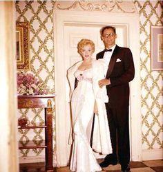 Marilyn Monroe and Arthur Miller, 1956    Photo by Milton Greene