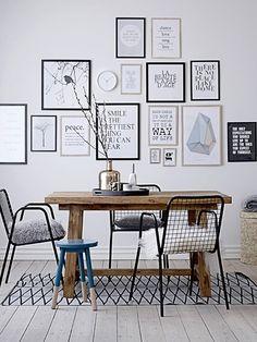 Wohnideen, die glücklich machen: Sprechende Wände