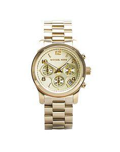 Klocka i rosé- eller guldfärg från MICHAEL KORS WATCHES. Kronograf och  datumvisning. Vattentät till 5 ATM. Boetten är 42 mm i diameter. 034e7569d0710
