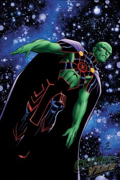 Martian Manhunter #11 by John Romita Jr., ins by Klaus Janson, colours by Laura Martin *