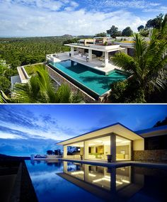 Opulent Tropical Villas Feature Sparkling Infinity Pools