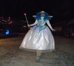 Book The Snow Fairies. Hire our Snow Fairy stilt walkers for Christmas-themed events in London & the UK.