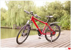 luxury type high quality aluminium alloy suspension electric bicycle (pseb-45)