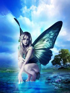 Die 73 Besten Bilder Von Elfen Feen Mythological Creatures