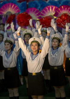˚Arirang Mass Games At May Day Stadium, Pyongyang, North Korea