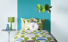 Get inspired with these gorgeous paint colour trends from Sico! Murs Turquoise, Turquoise Paint Colors, Turquoise Painting, Sico, Room Colors, Colours, Trending Paint Colors, Exterior Paint Colors, Color Psychology