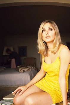 Sharon Tate at her beach house in Santa Monica, 1967. ph Gianni Praturlon