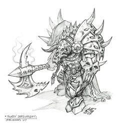 World of Warcraft - Wrath of the Lich King - Tauren - Death Knight - Mark Gibbons
