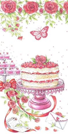 Gail Glaser - Advoc 2012 - Valentine-Occasions Roses Cakes Party.JPG