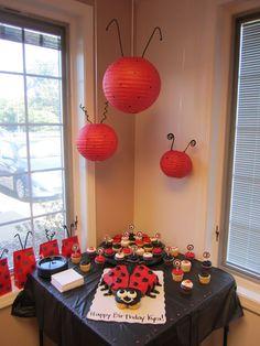 Ladybug decorations
