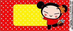 Imprimibles de Pucca 3. | Ideas y material gratis para fiestas y celebraciones Oh My Fiesta! Hello Kitty, Blogger Templates, Party Printables, Cake Designs, Minnie Mouse, Wallpaper, Disney Characters, Birthday, Html